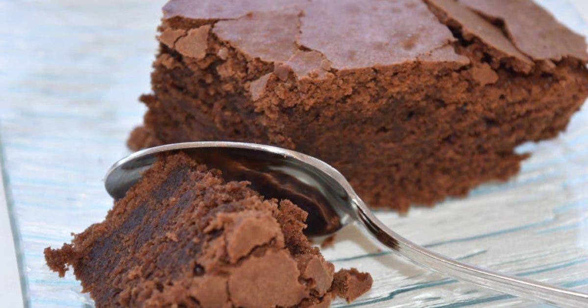 Gâteau au chocolat sans beurre, sans sucre, sans farine