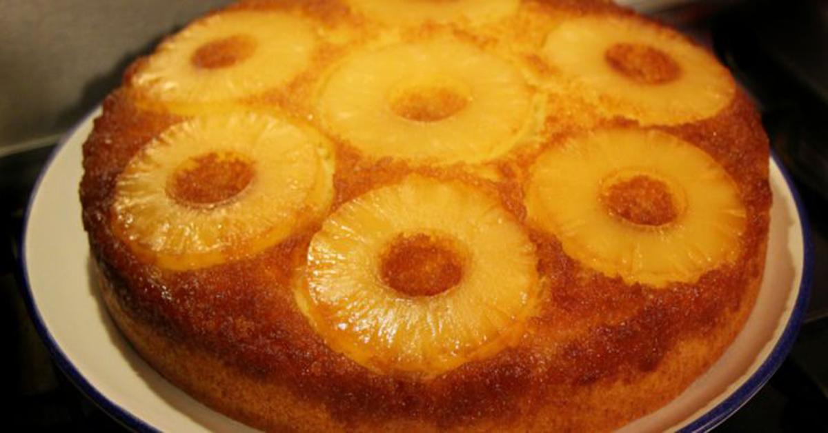 Gâteau renversé à l'ananas à l'ancienne