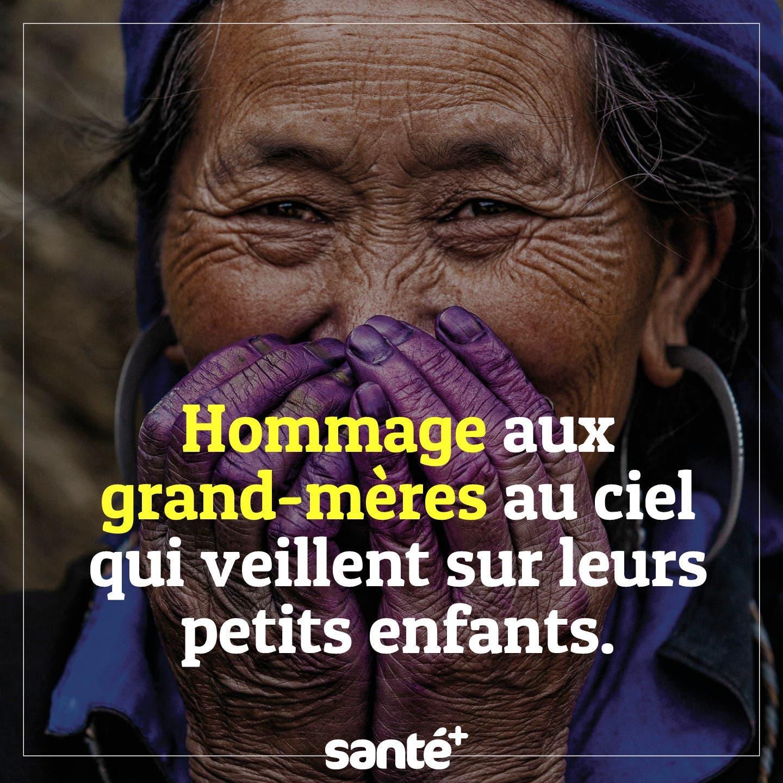 Hommage aux grand-mères au ciel