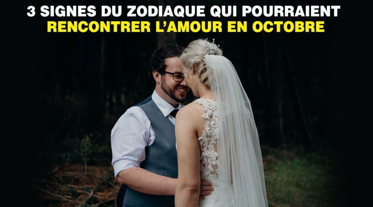 signes du zodiaque qui pourraient rencontrer l'amour en octobre