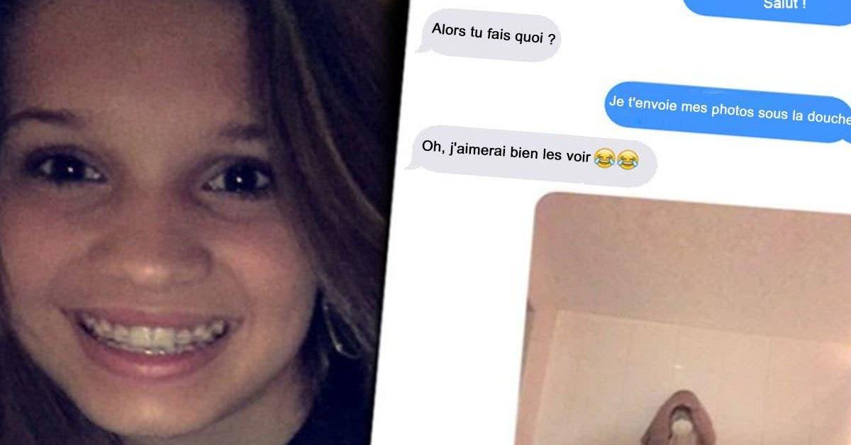 Il a demandé à une fille de 16 ans de lui envoyer sa photo nue sous la douche