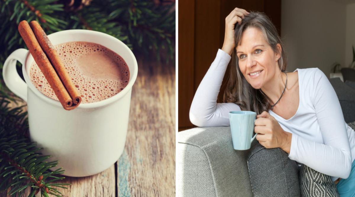 boire du chocolat chaud