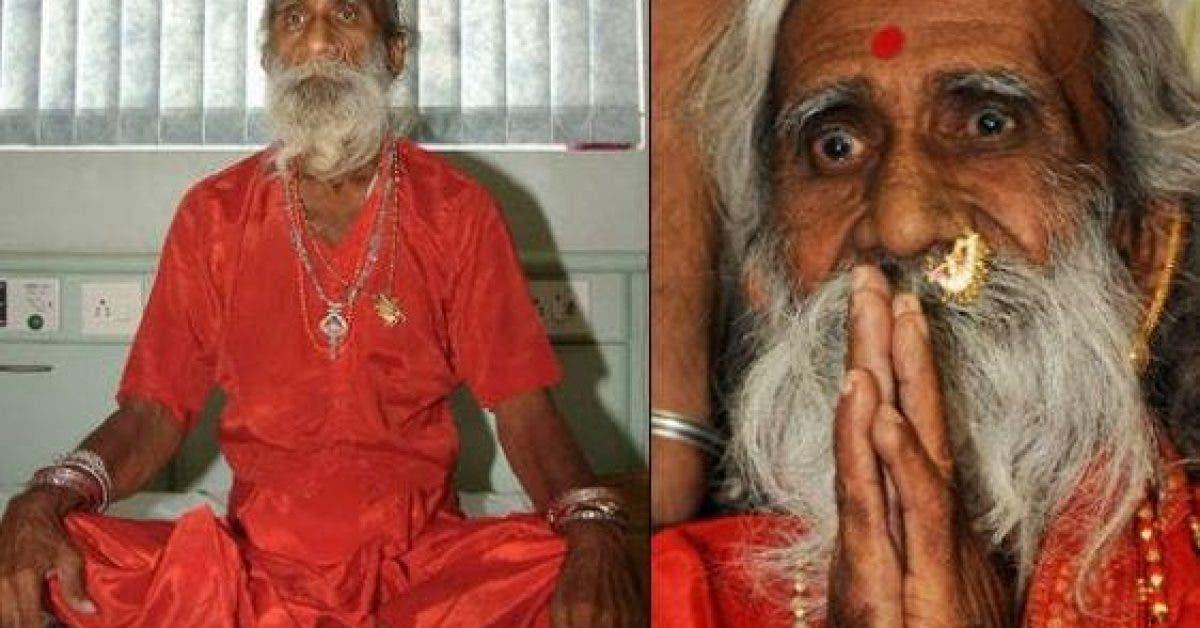 Incroyable Cet homme na pas mange un seul aliment depuis 75 ans 1