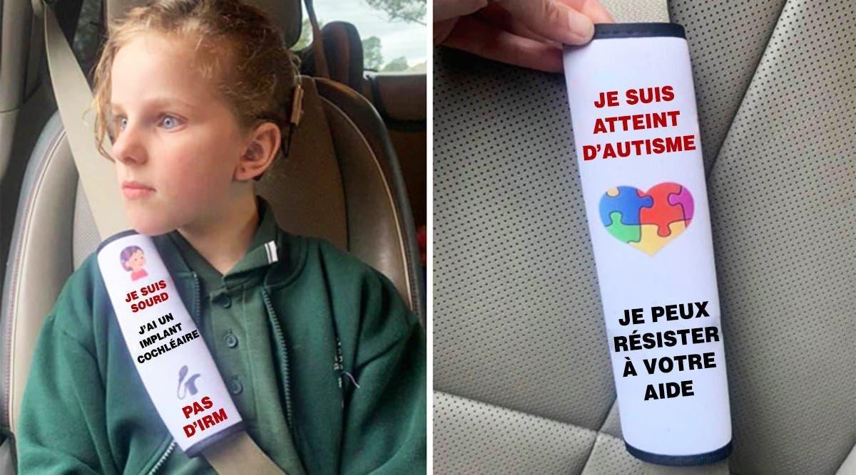 Une mère fait le buzz pour avoir crée des ceintures de sécurité pour alerter les services d'urgence
