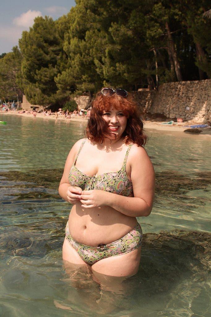 Je suis une femme ronde qui a osé porter un bikini à la plage