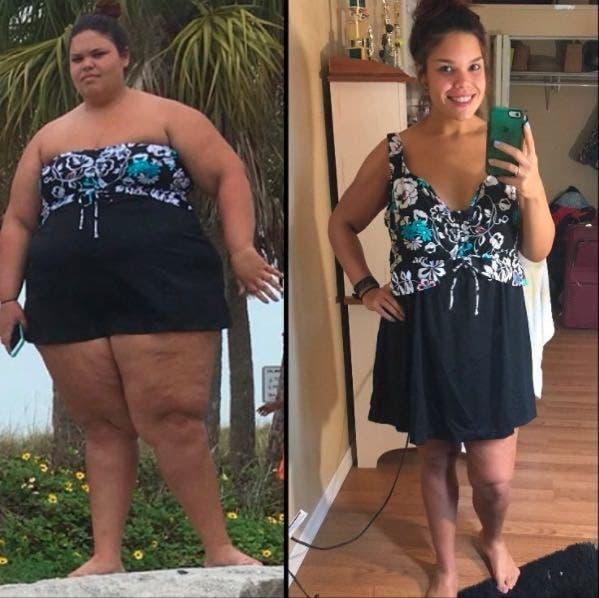 Jessica arrête 2 mauvaises habitudes courantes et perd 77 kg