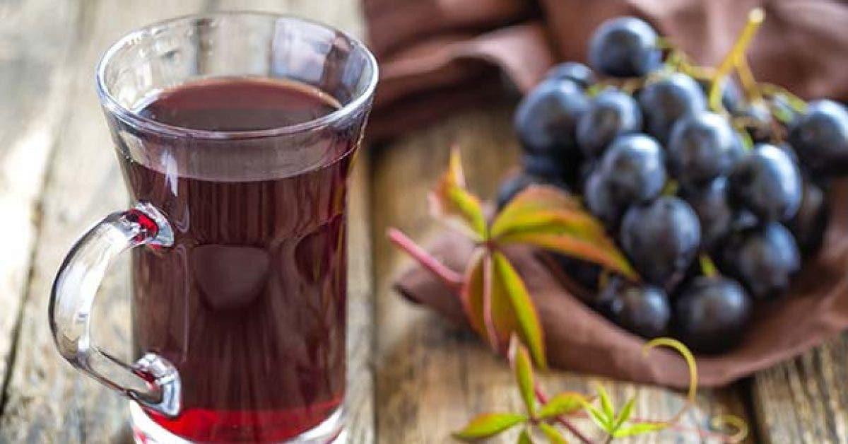 Jus de raisin pour meilleure sante cardiaque11