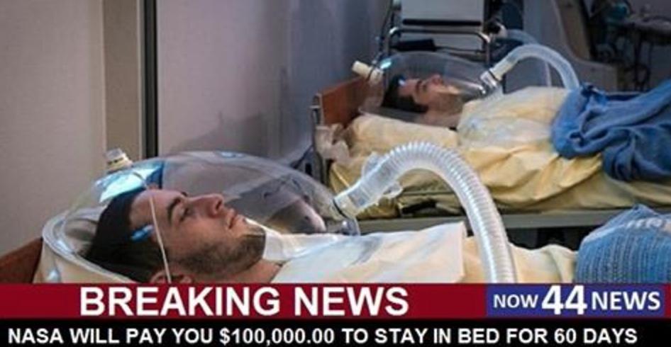 La NASA vous paiera 100 000 $