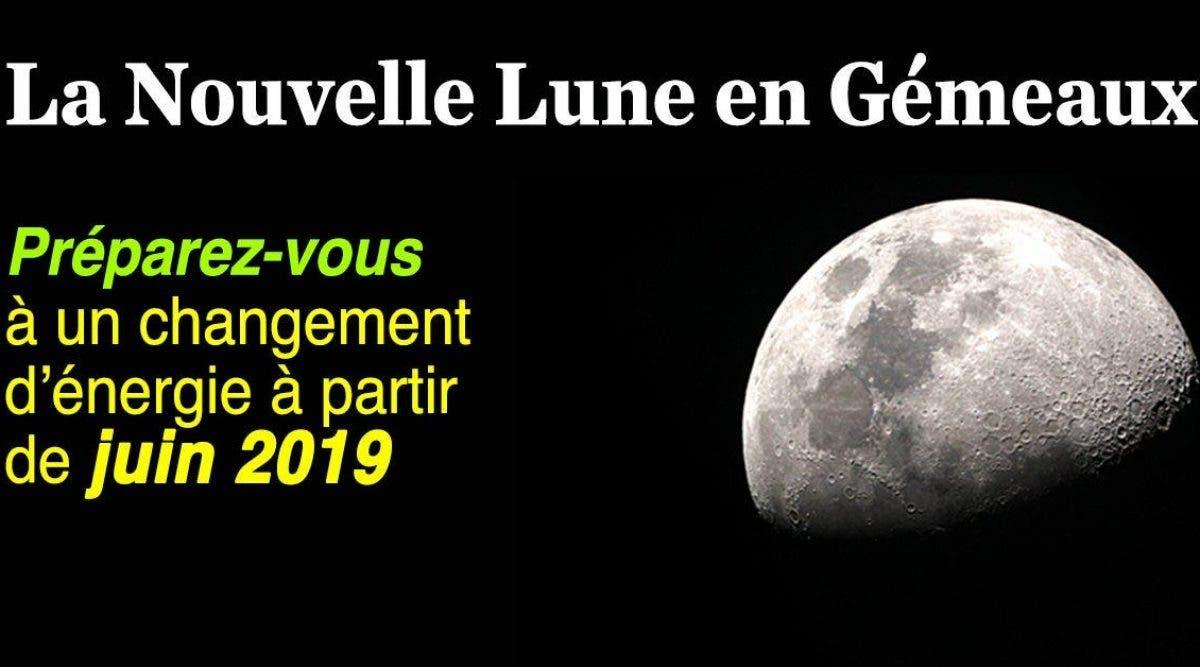 la nouvelle Lune du mois de juin apporte un changement d'énergie majeur sur tous les signe du zodiaque