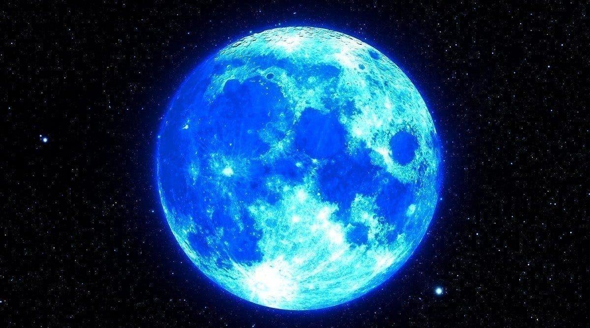 La Pleine lune bleue de ce soir va apporter du chaos dans nos vies