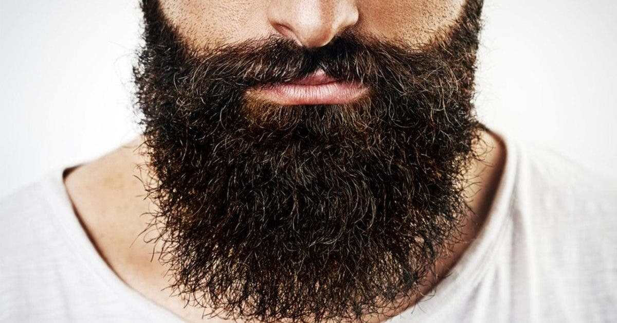 La barbe peut contenir autant de bactéries et de matières fécales que des toilettes sales