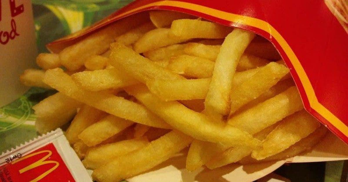 La composition des frites de Mc Donalds est dégoutante