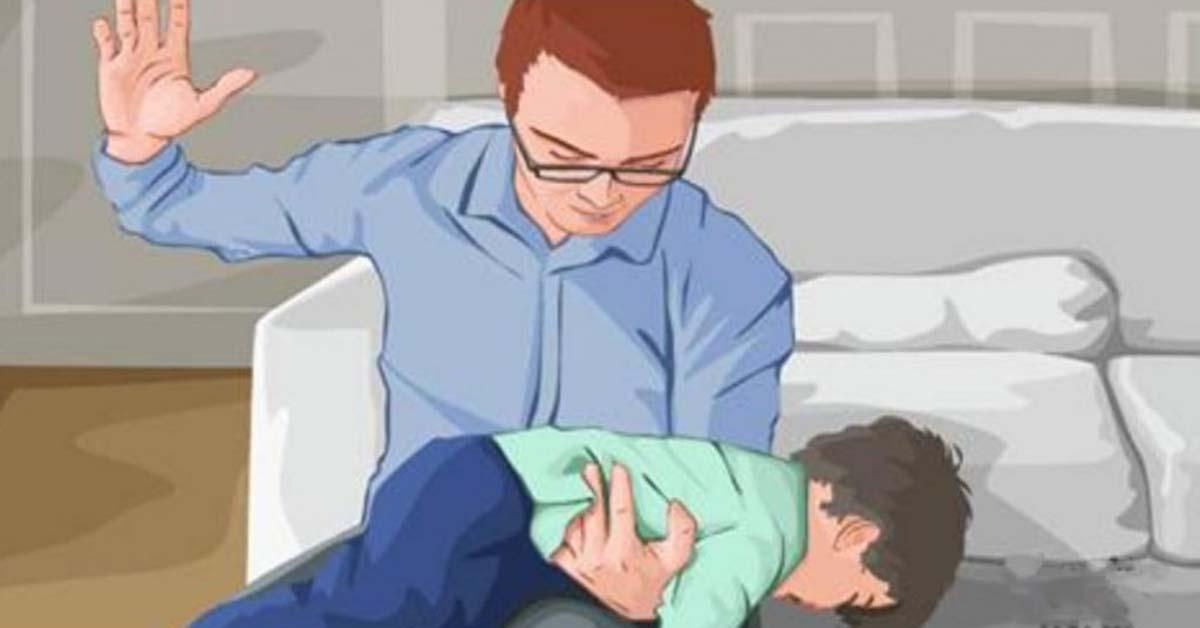 La fessée entraîne des dommages à long terme chez les enfants