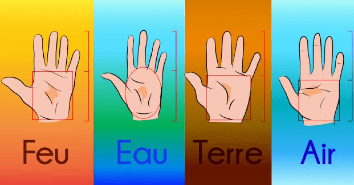 La forme de votre main dit des choses secrètes sur vous