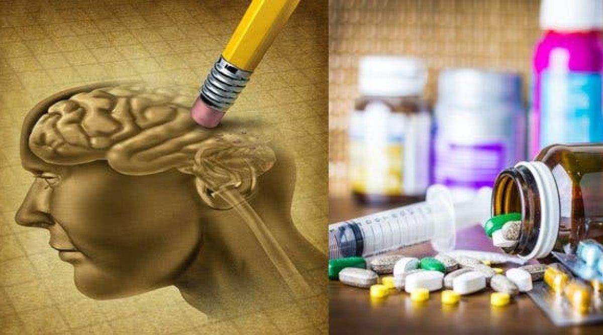 La liste des 20 médicaments qui peuvent causer la perte de mémoire