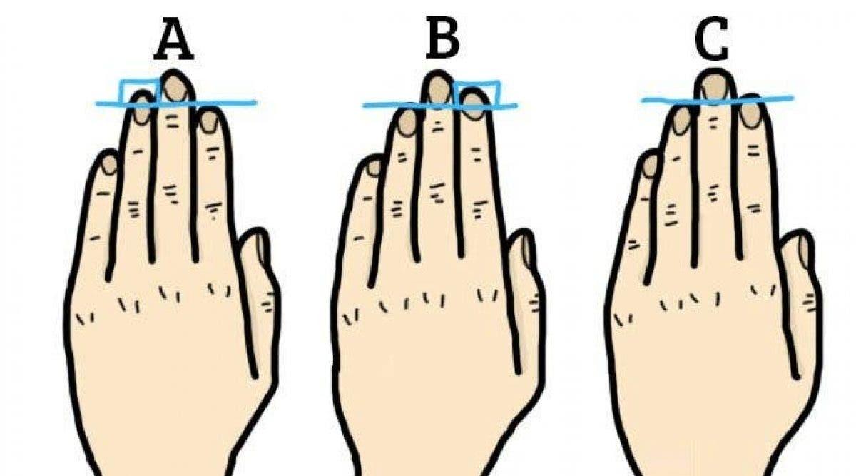 La longueur de vos doigts en dit long sur votre personnalité
