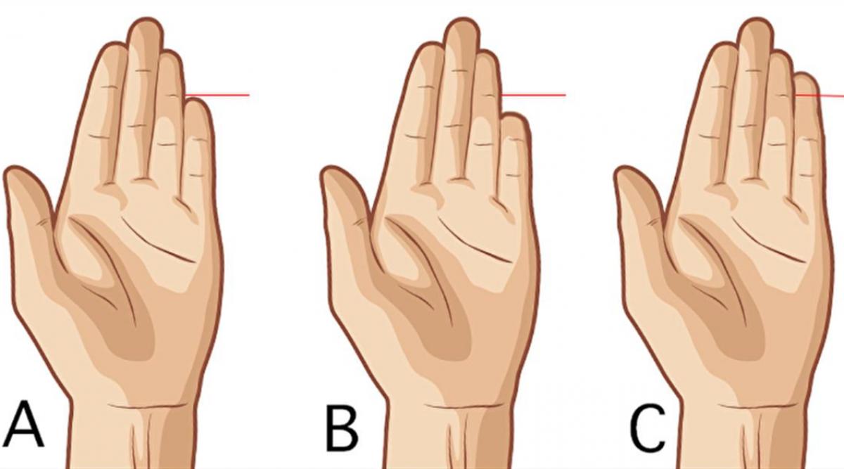 La longueur de votre petit doigt révèle des aspects cachés de votre personnalité
