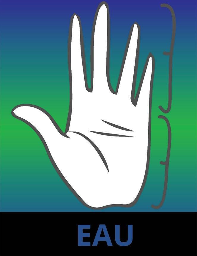 La main Eau 1