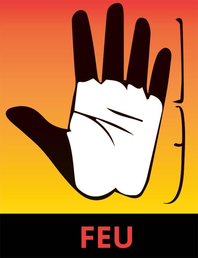 La main Feu 1
