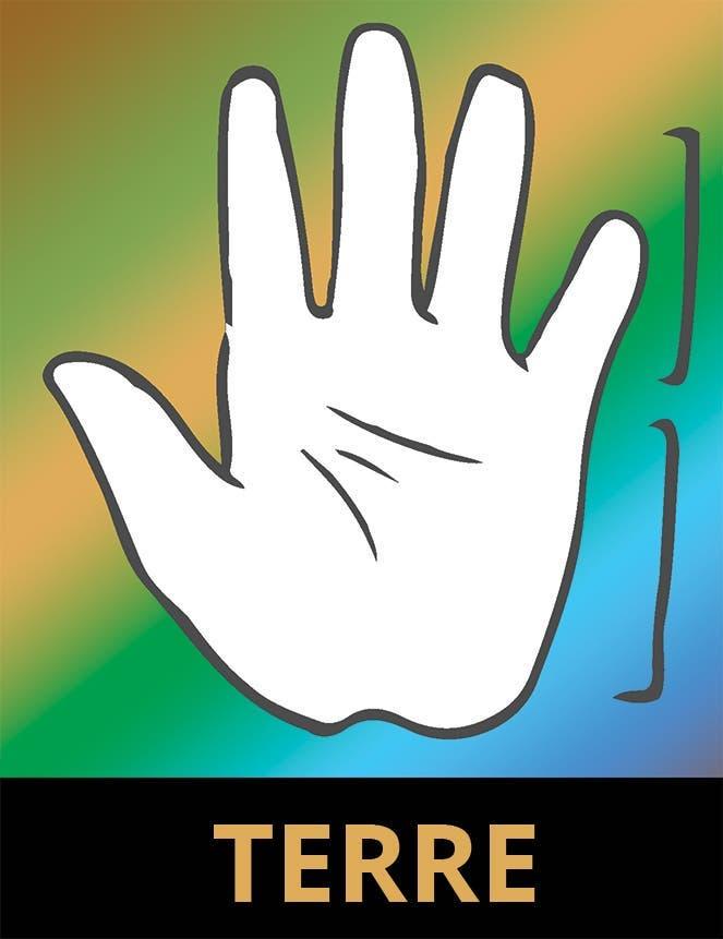 La main Terre 1