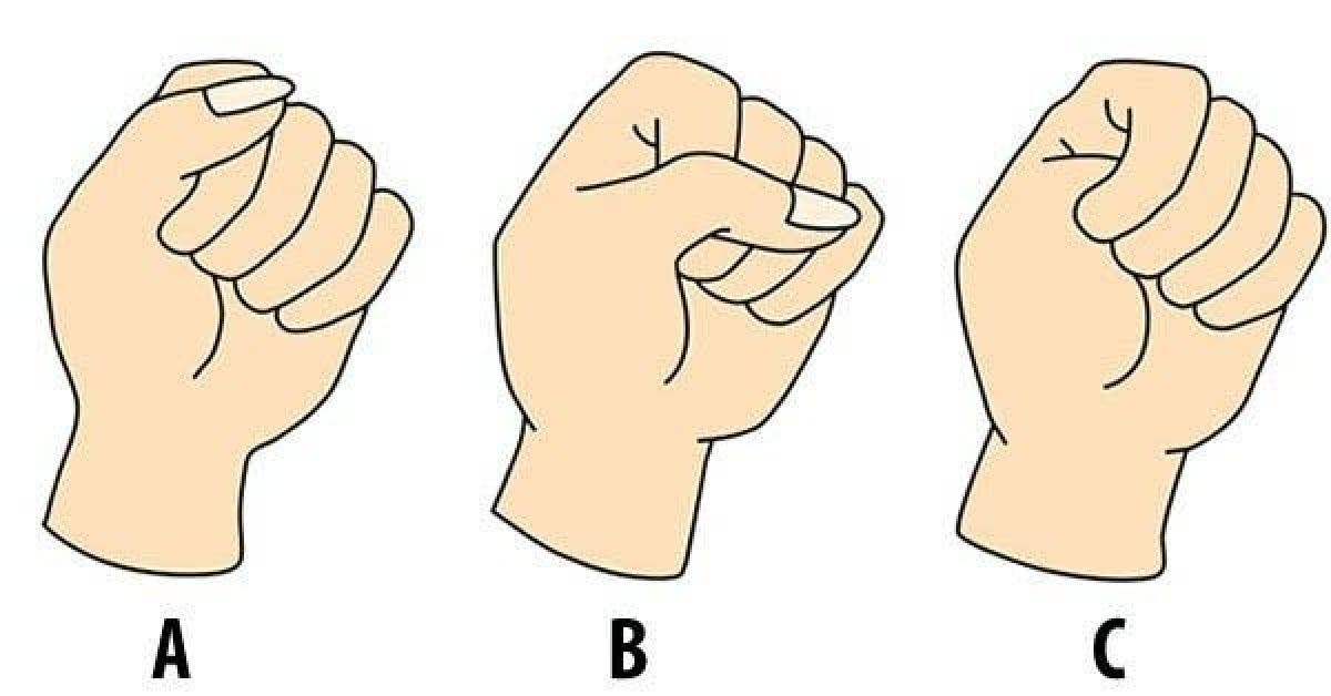 La manière de serrer vos poings en dit long sur votre personnalité