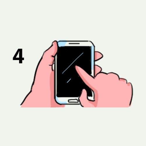 La manière de tenir votre téléphone en dit long sur votre personnalité