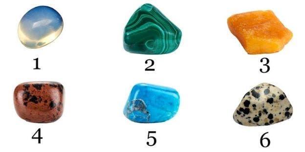 La pierre que vous choisirez révélera des secrets cachés sur votre personnalité