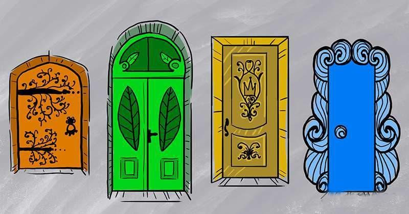 La porte que vous choisissez en dit long sur votre personnalité et vos émotions