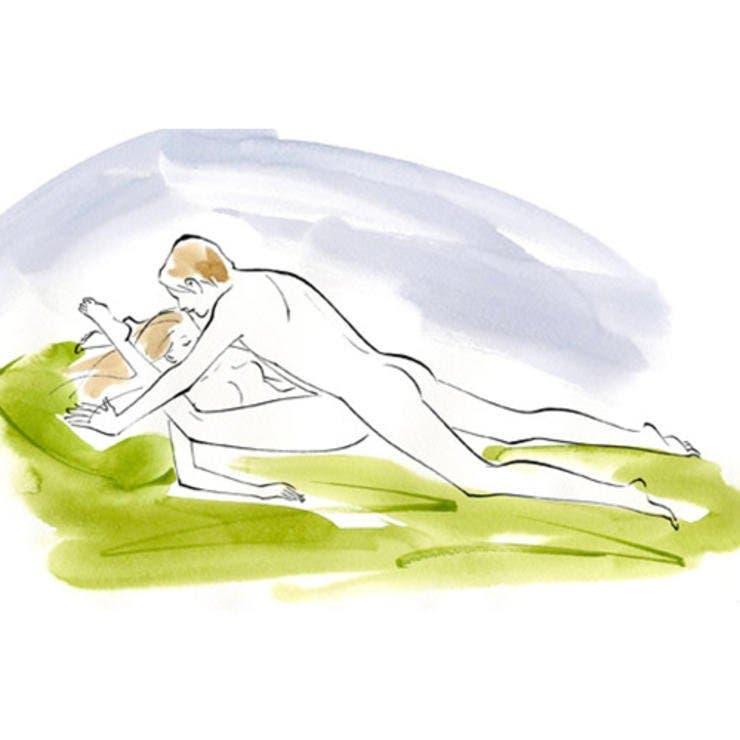 La  position du coquillage