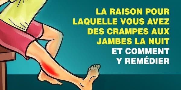 Voici pourquoi vous avez des crampes aux jambes le soir et comment y remédier