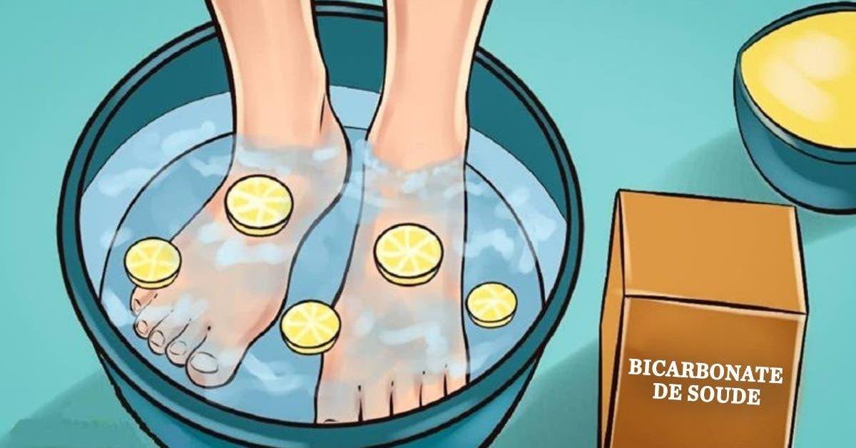 La recette du bain de pieds au citron qui elimine toutes les toxines du corps et ameliore votre sante