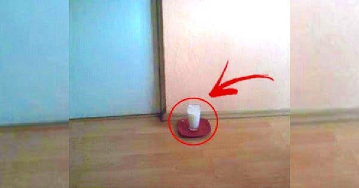 Laissez un verre d'eau avec du sel et du vinaigre dans votre maison et voyez les changements incroyables en 24 heures !