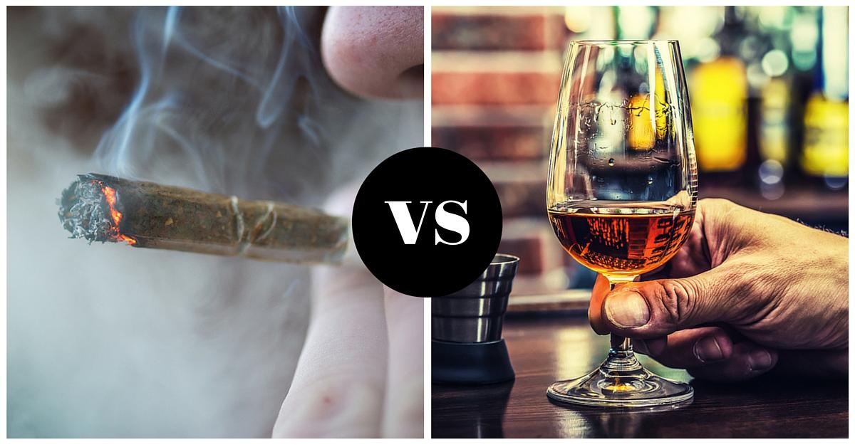 L'alcool est bien plus dangereux que le cannabis d'après les scientifiques