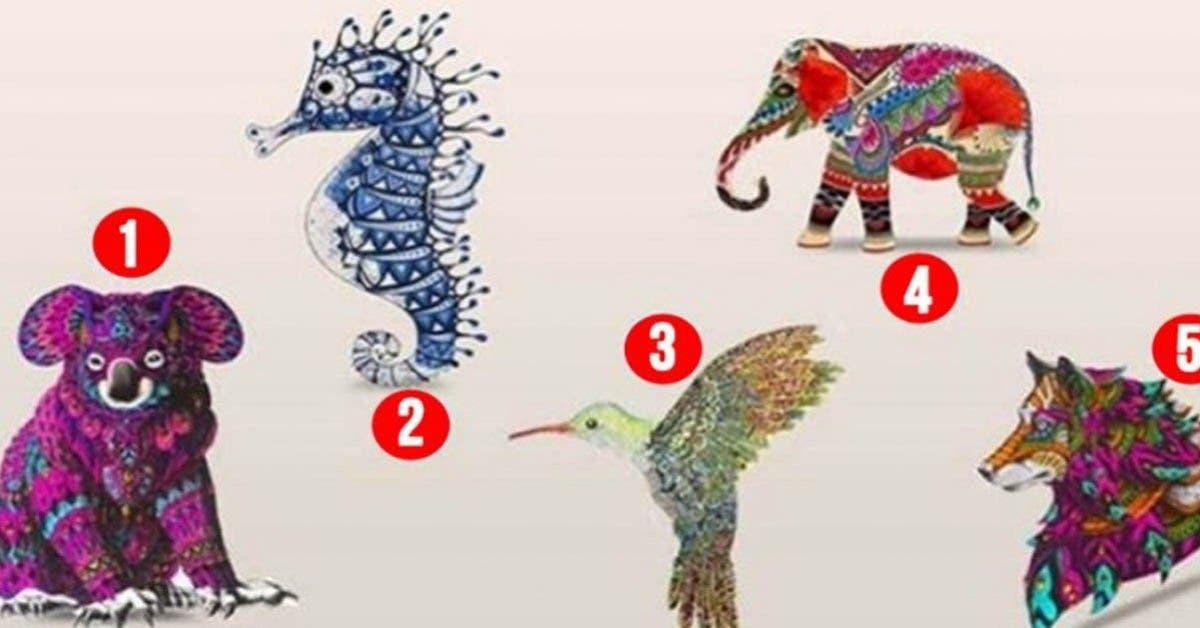 L'animal totem que vous allez choisir va vous apprendre des choses sur votre personnalité