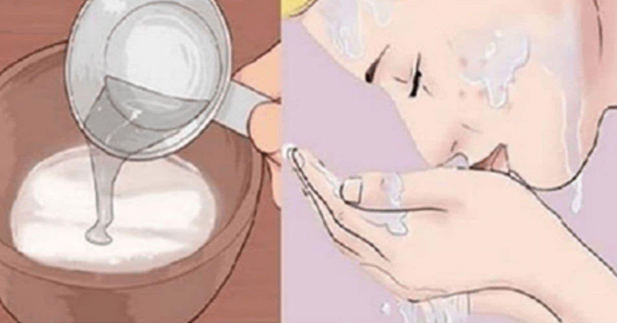Lastuce avec du bicarbonate de soude pour rajeunir votre visage 1