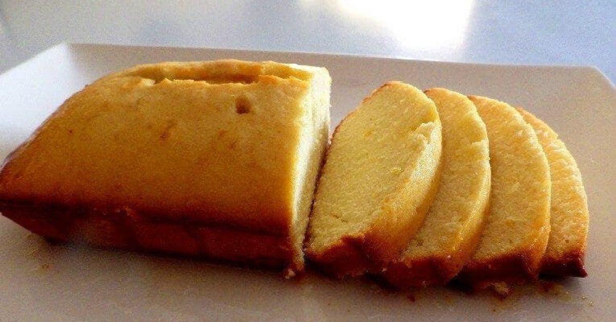 Le célèbre cake au citron