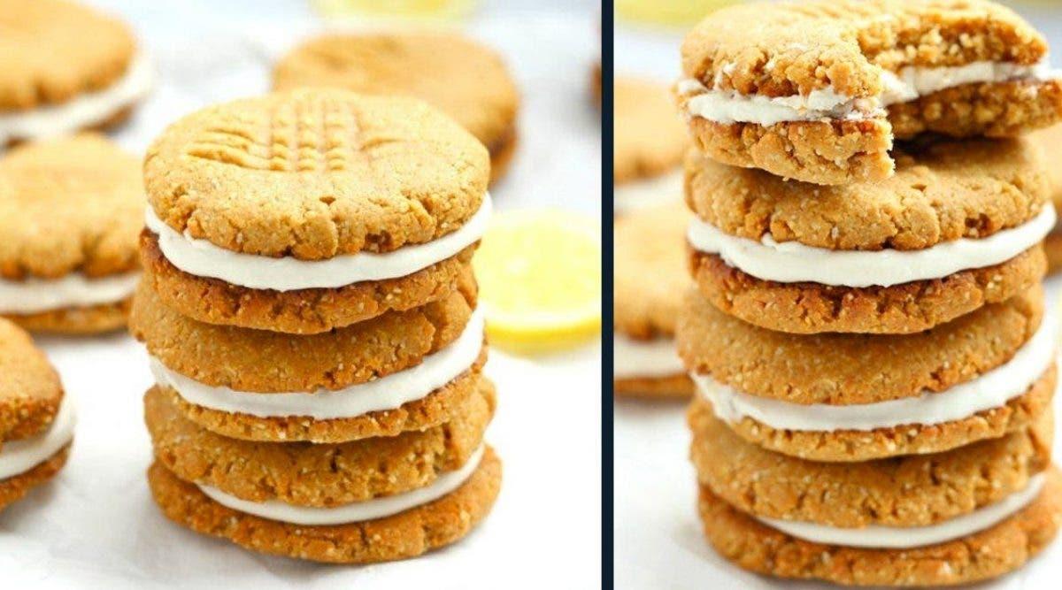 Le célèbre cookies au citron sans gluten sans sucres qui rend fou les enfants