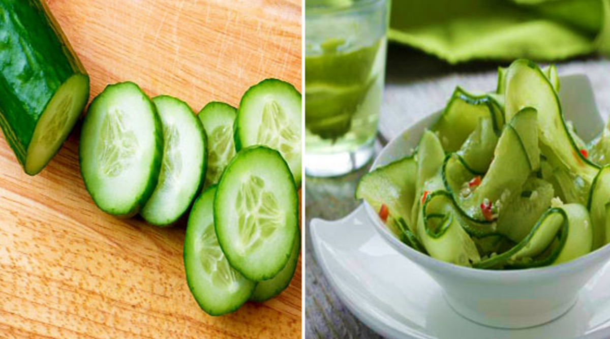 Le célèbre régime au concombre pour éliminer les kilos en plus