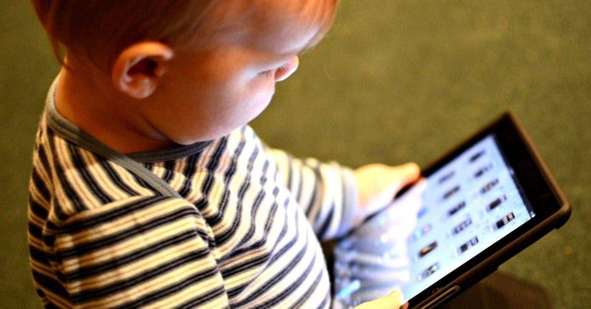 Le cerveau des enfants pourrait être modifié par les écrans
