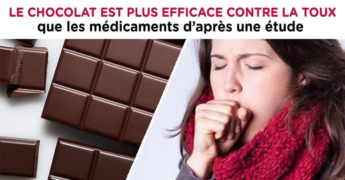 Le chocolat est plus efficace contre la toux que les médicaments d'après une étude
