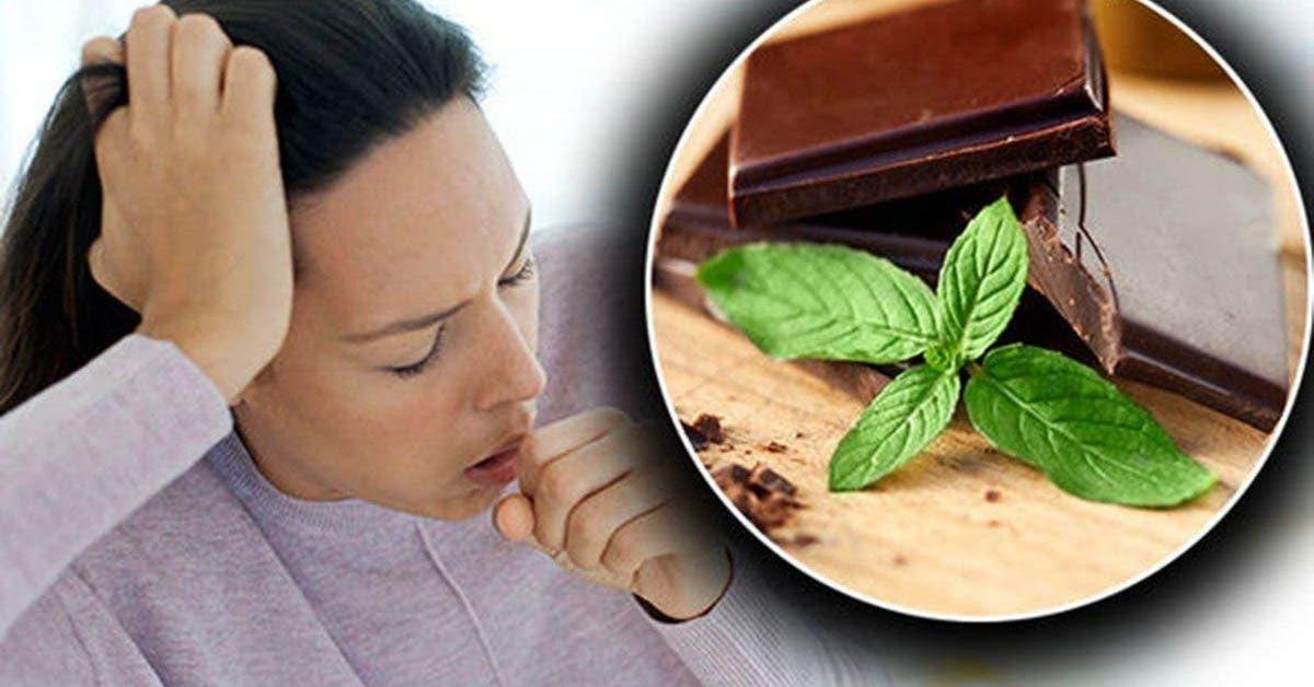 Le chocolat soigne mieux la toux que les sirops