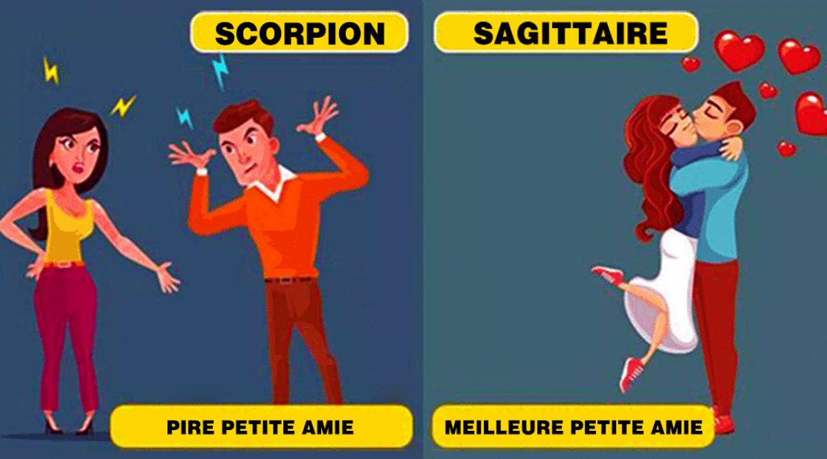 Le classement des meilleures aux pires petites amies du zodiaque