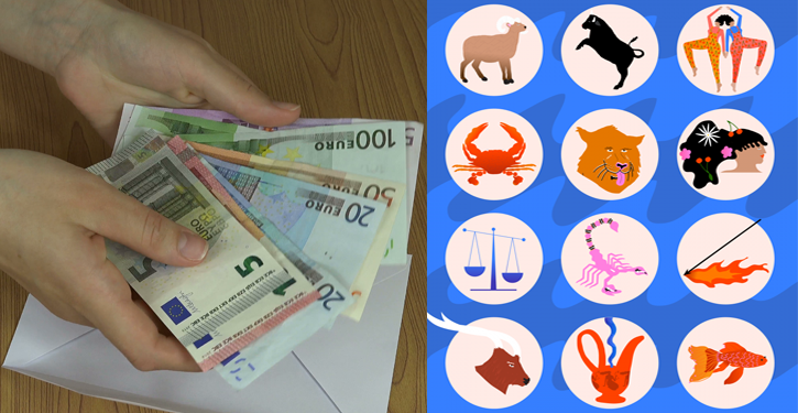 The ranking of zodiac signs that attract the most money
