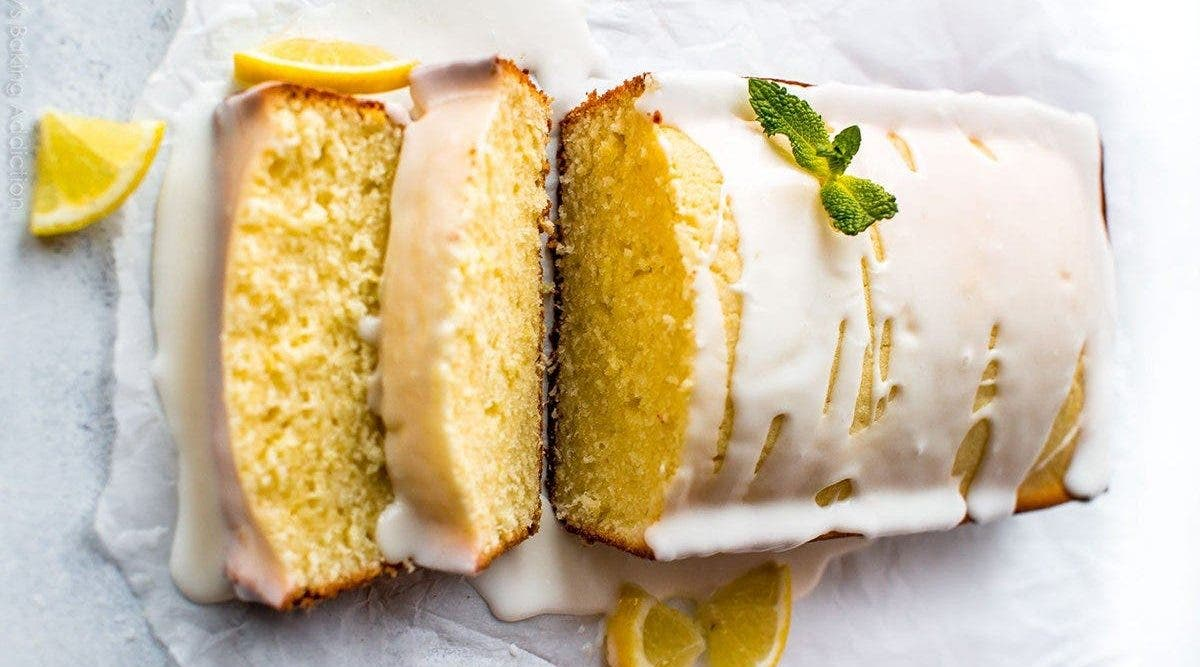 Le délicieux cake au citron sans gluten, sans sucres qui rend fou les gourmands