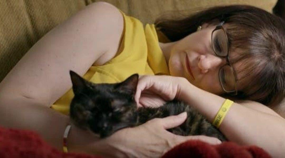 Le dernier souhait d'une fille mourante était d'avoir un chat. La fin de l'histoire est juste magnifique