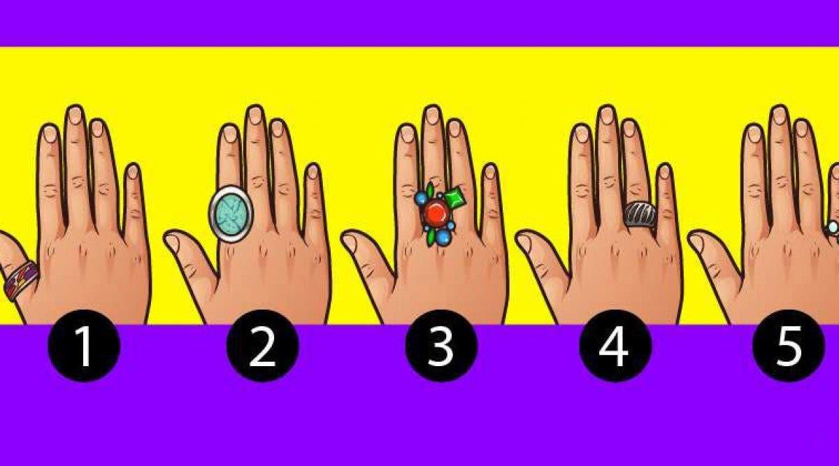 Le doigt que vous utilisez pour porter vos bagues donne des informations sur votre personnalité