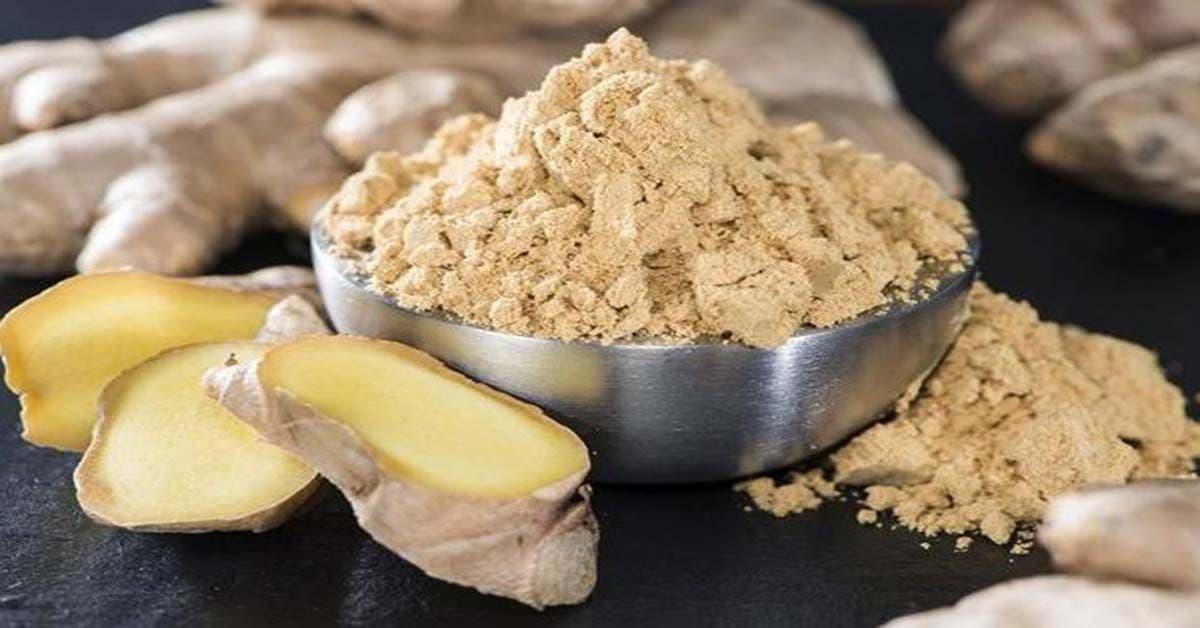 Le gingembre est le remède le plus efficace contre l'indigestion, la nausée et les spasmes menstruelles