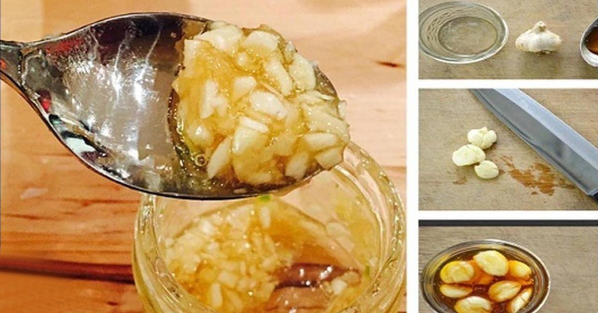 Le melange ail et miel est un antibiotique naturel efficace contre la grippe les infections et beaucoup dautres maladies 1
