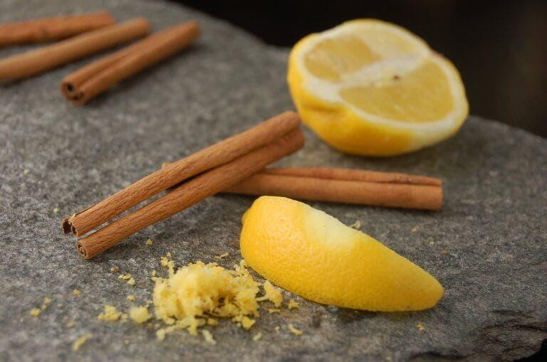 Mélangez un citron et de la cannelle et vous vous souviendrez de moi toute votre vie