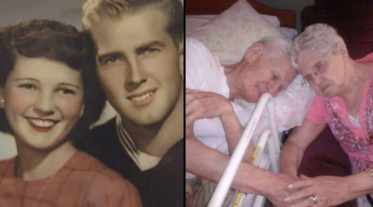 Le monde entier pleure sur l'histoire de ce couple qui a 67 ans de mariage